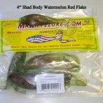 Soft Plastic Shad Body Fishing Baits